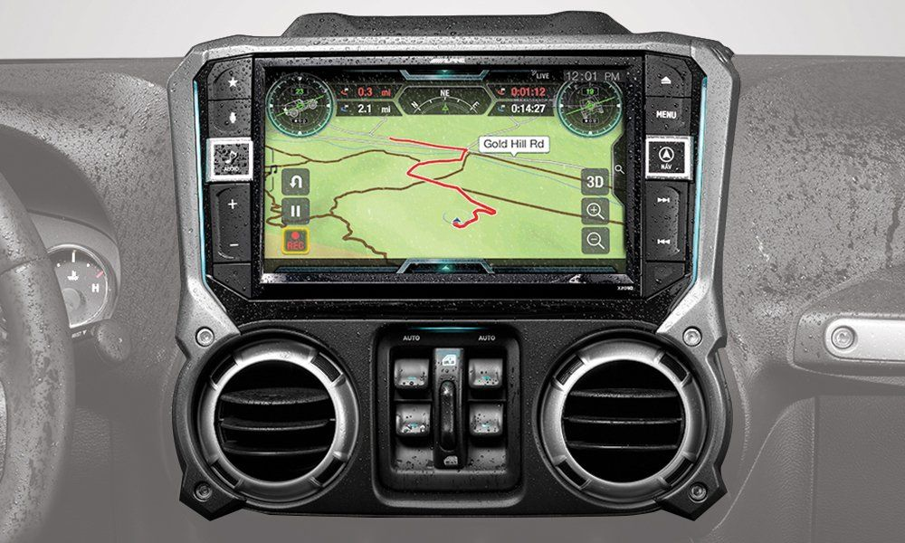 Alpine Electronics X209wraor 9 Restyle Navigation System With
