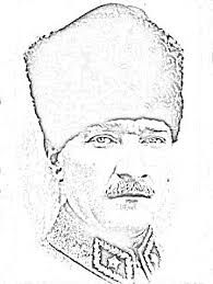 Ataturk Cizimi Ile Ilgili Gorsel Sonucu Goruntuler Ile Cizim Cizimler Boyama Sayfalari