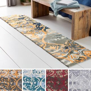 Shop for Hand-Tufted Linz Wool / Viscose Rug (2' x 8'). Get free shipping at Overstock.com - Your Online Home Decor Outlet Store! Get 5% in rewards with Club O!