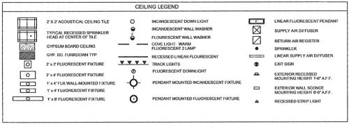Reflected Ceiling Plan Details Ceiling Plan Ceiling