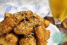 Photo of Korean Fried Chicken Wings with Sweet Garlic Sauce : Soy Garlic Fried Chicken Recipe – Seonkyoung Longest