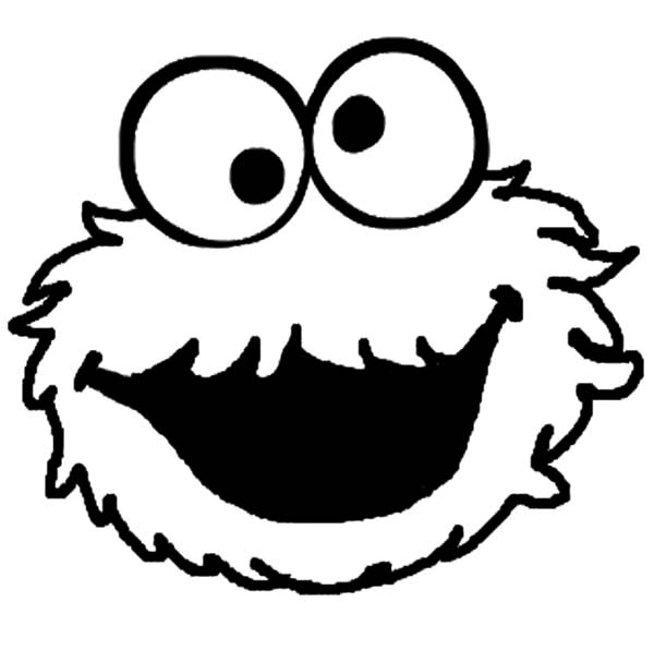 Cookie Monster Silly Face Coloring Pages Coloring Sky Monster Coloring Pages Cookie Monster Drawing Monster Cookies