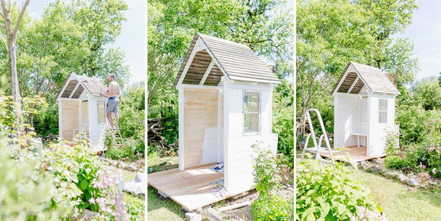 DIYGartenlaube mit (mit Bildern) Gartenlaube