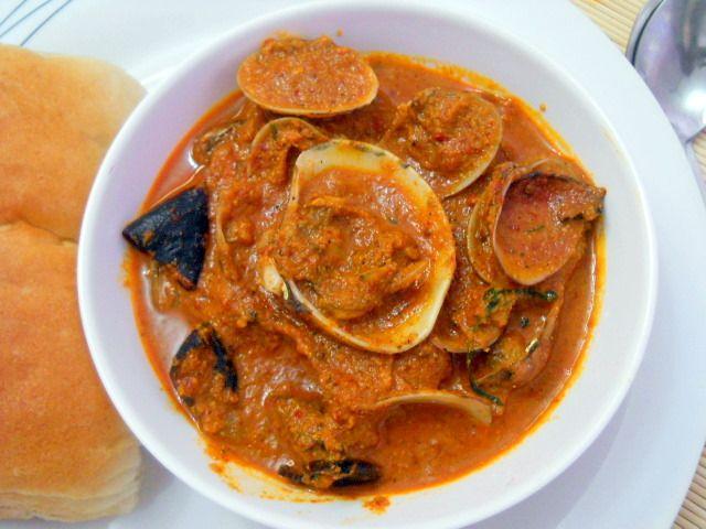Goan clams recipe, how to make goan clams recipe