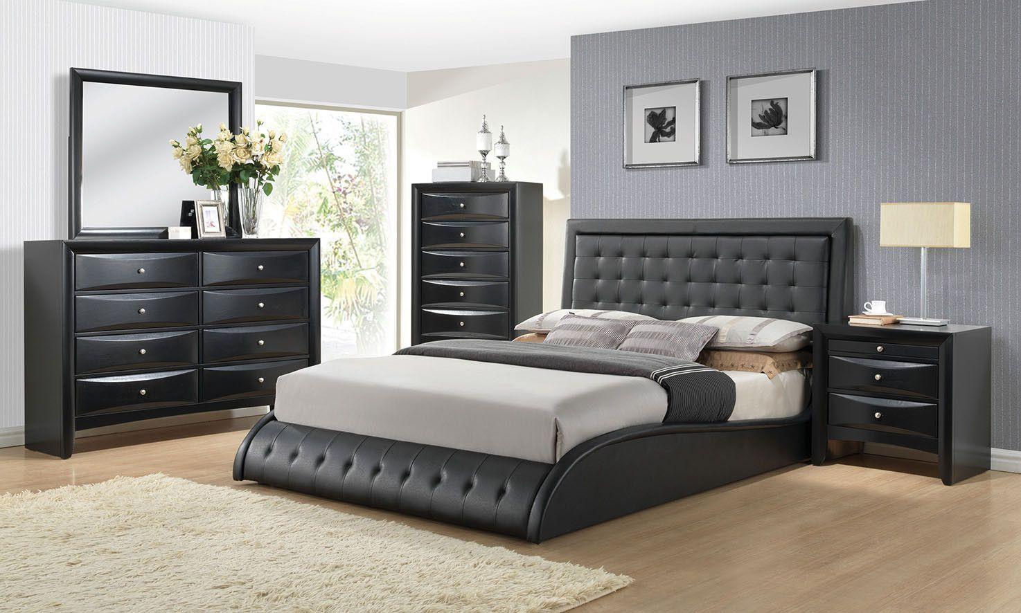 Best Tirrel 4 Pcs Bedroom Sets 1126 Description This 400 x 300