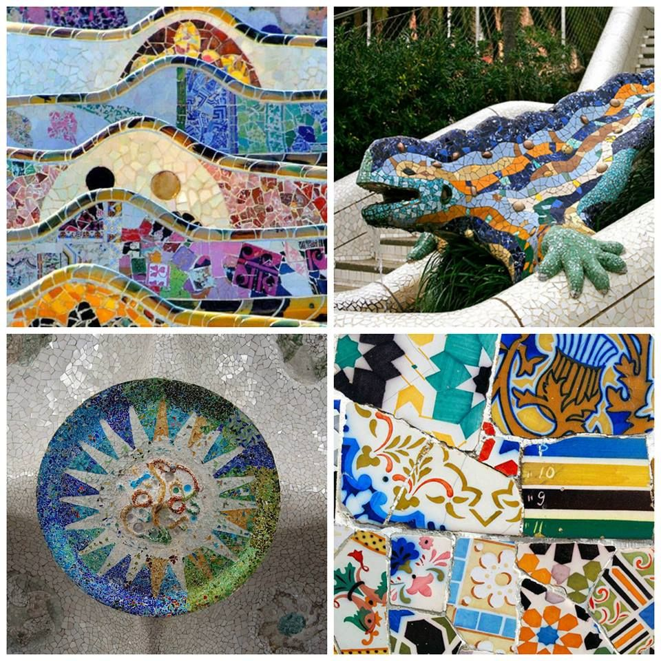 Did you know? Gaudí collaborated with fellow Catalan architect Josep Maria Jujol to construct the Park Güell mosaics!