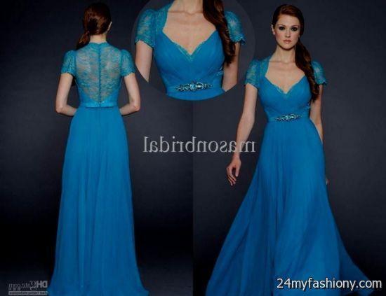 Lace Bridesmaids Dresses 2017   royal blue lace bridesmaid dress ...