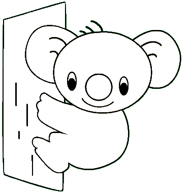 Koala Coloring Pages Bear Coloring Pages Coloring Pages Detailed Coloring Pages