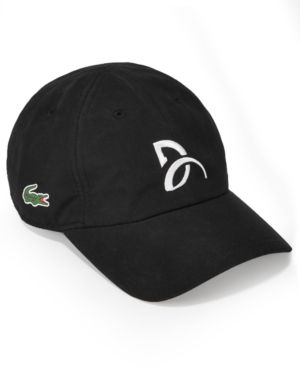 Lacoste Collection For Novak Djokovic Men s Signature Ultra Dry Cap 85f10b583fc
