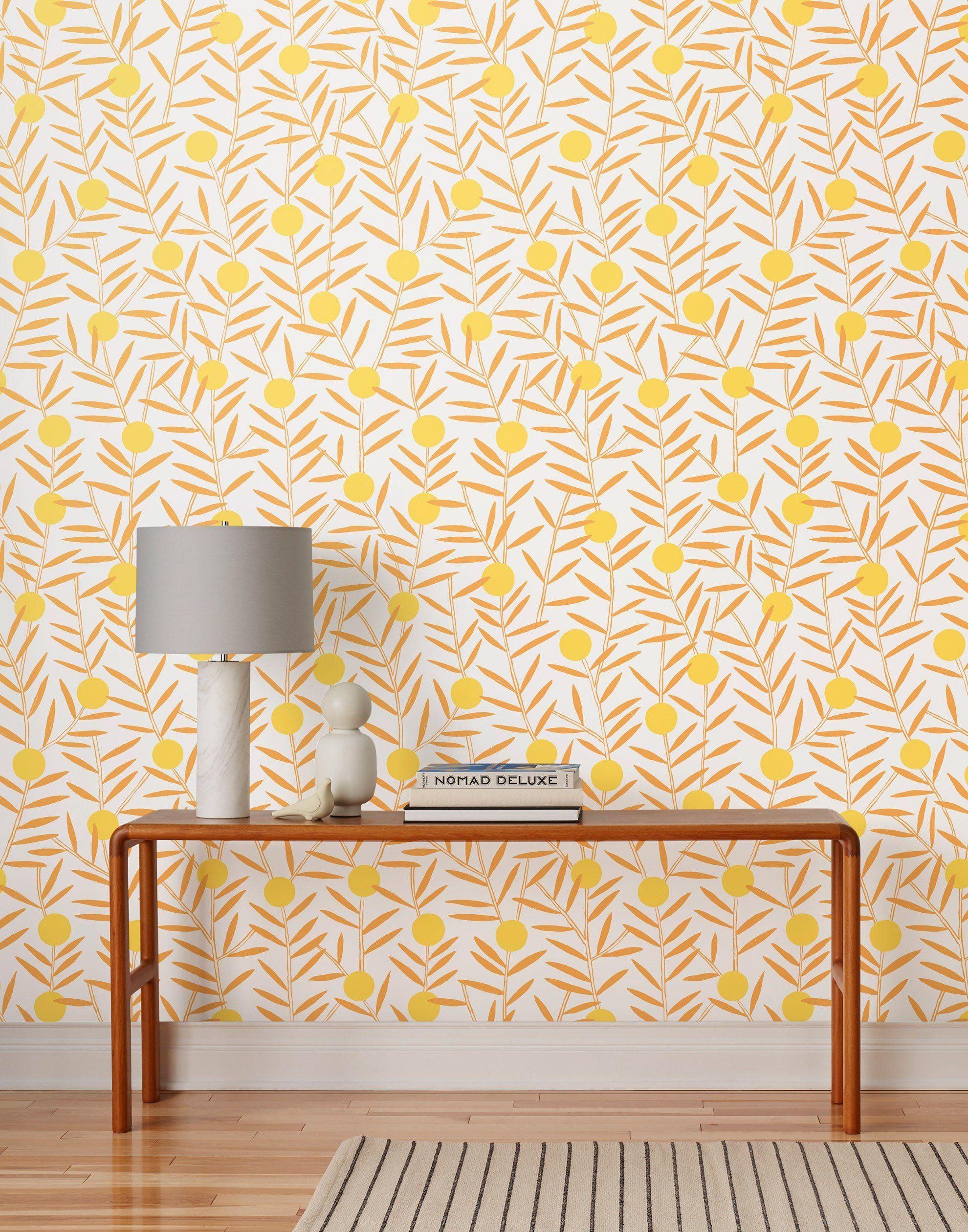 Bloom Marigold In 2020 Scandinavian Wallpaper Modern Wallpaper Designs Designer Wallpaper