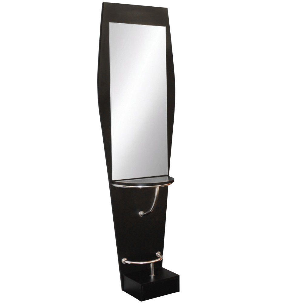 Beauty Salon Equipment Black Single Sided Hair Styling Station WS ...