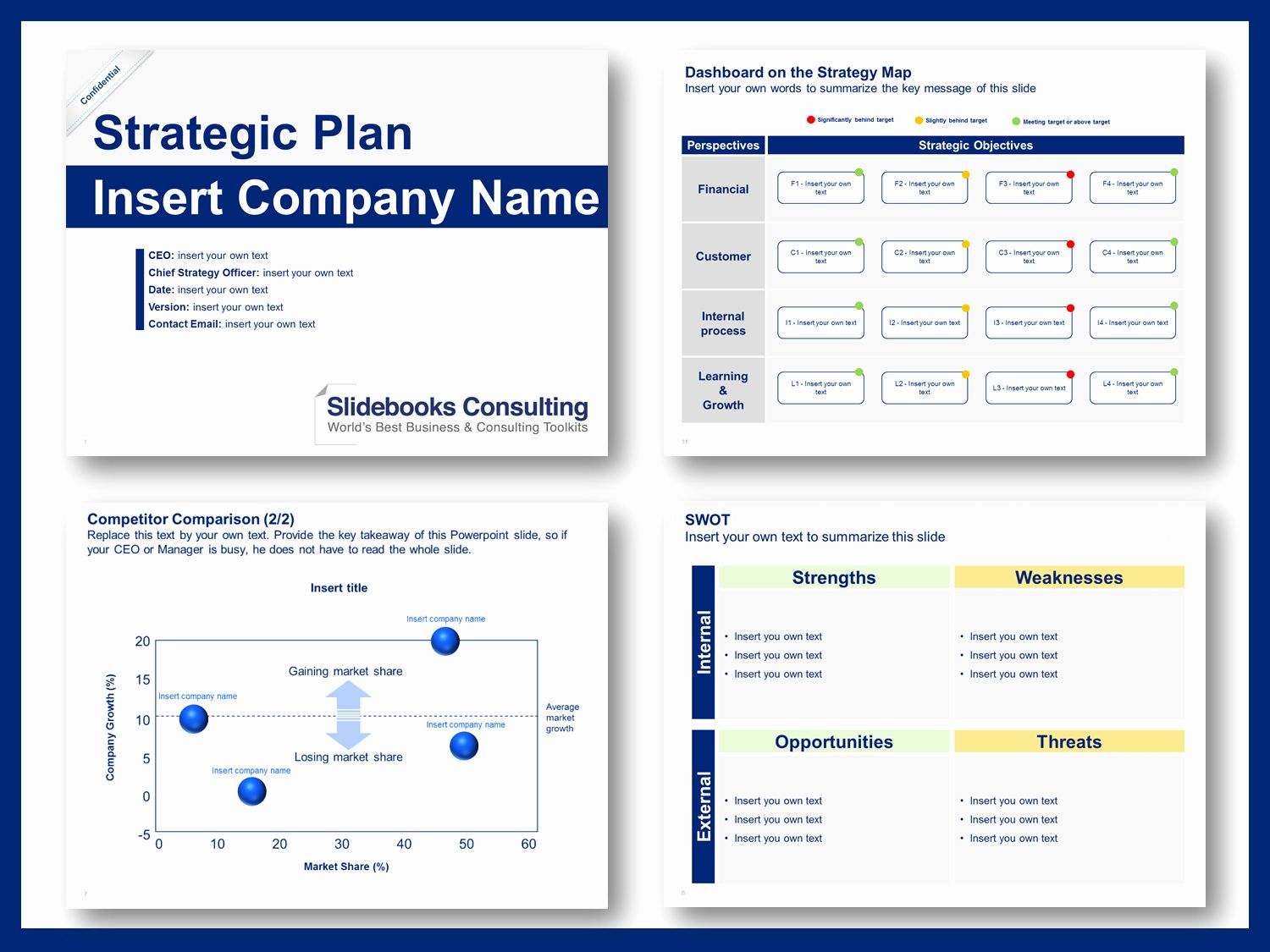 Strategic Plan Template Ppt Awesome Download A Simple