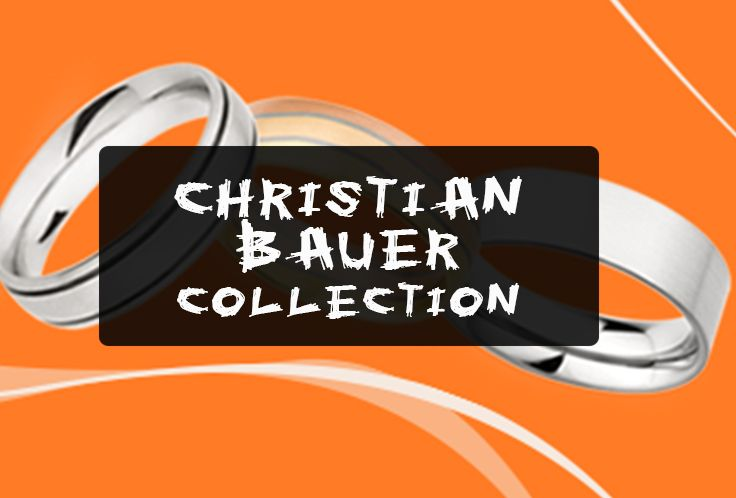 Our Exclusive Christian Bauer Men's Wedding Band Collection at Steven Singer Jewelers