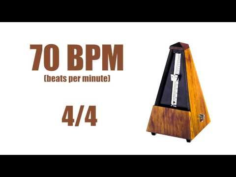 70 BPM Metronome 4/4 – Best Online Metronome 70 Beats Per Minute