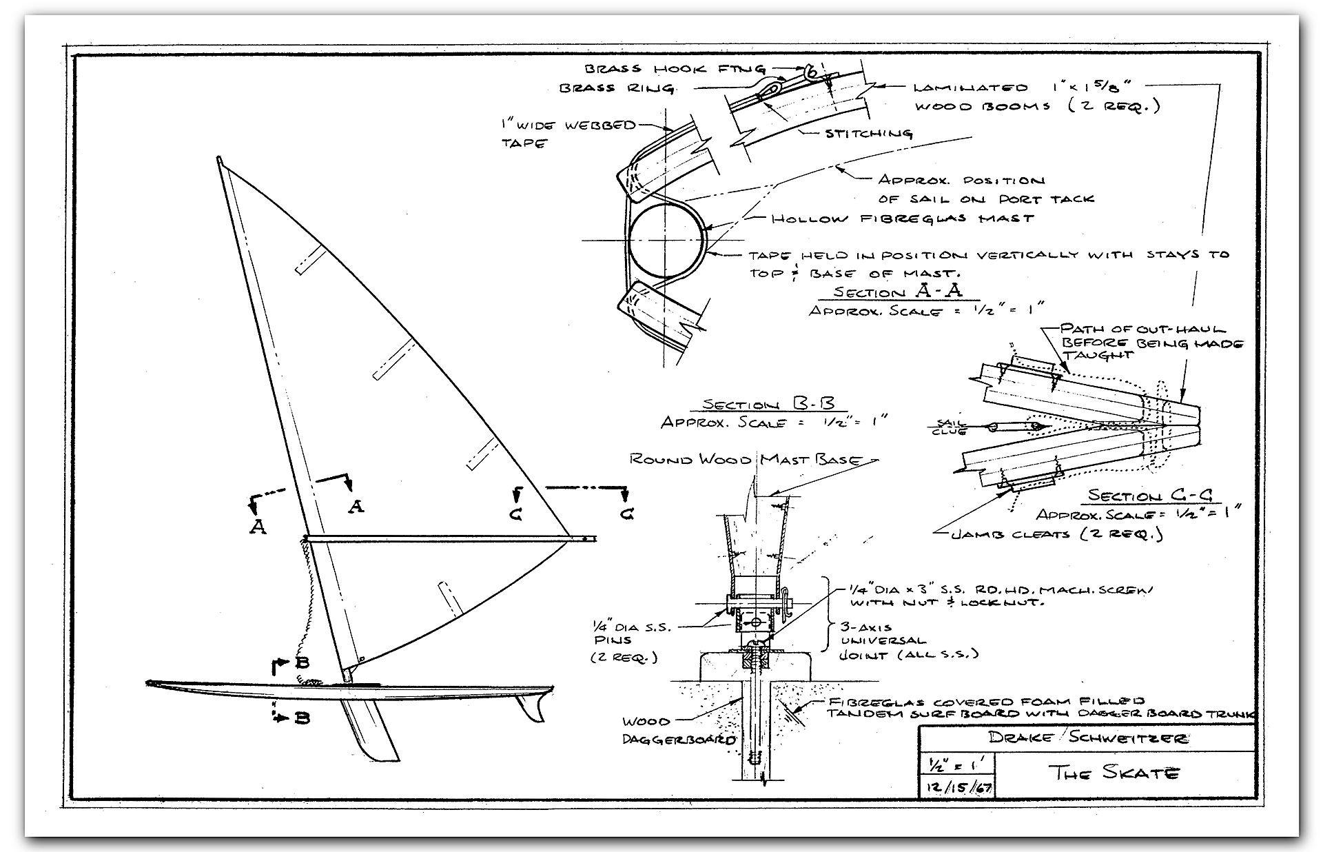 Origins Of Windsurfing Jim Drake American Windsurfer