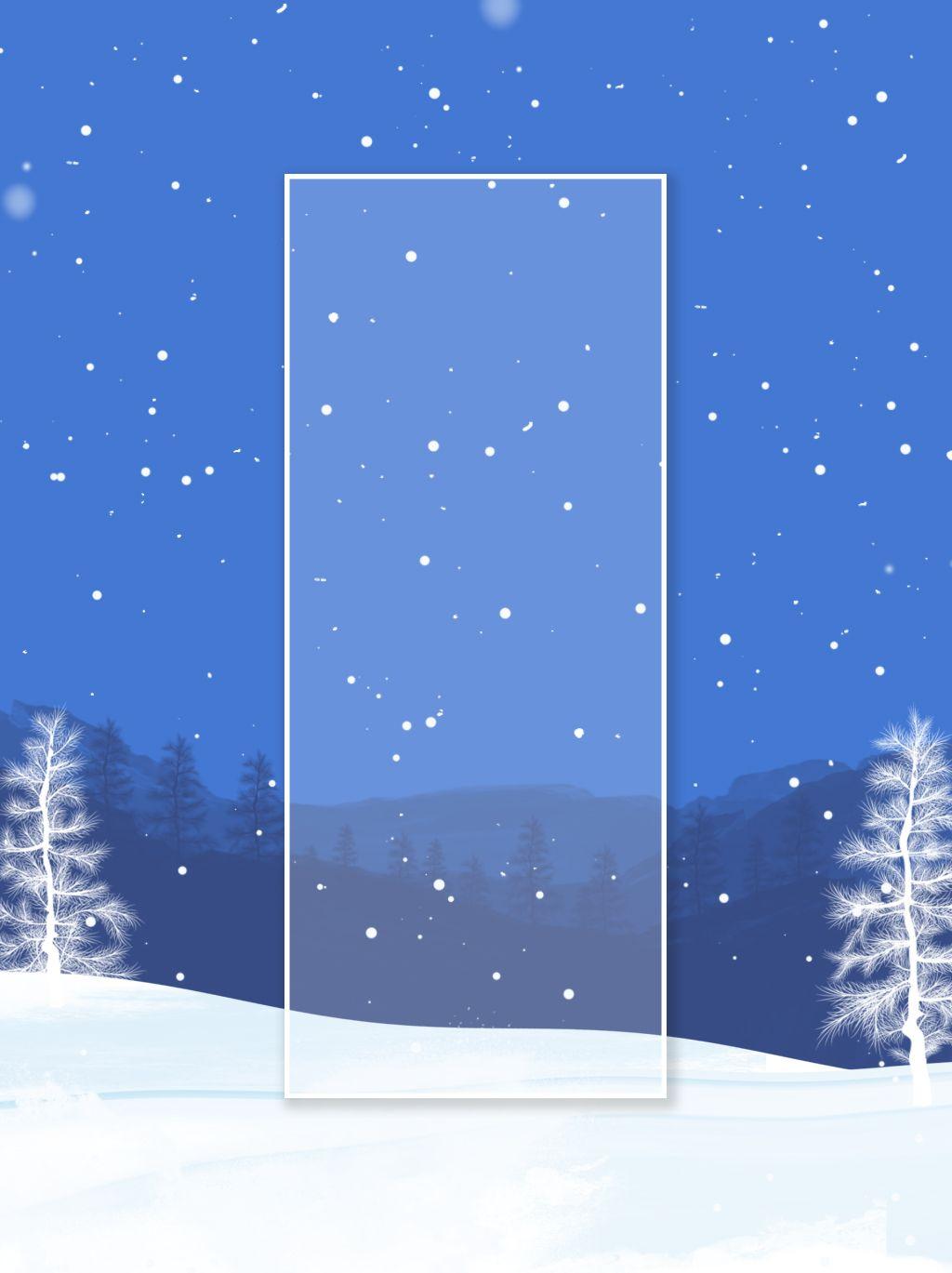 الشتاء الكامل مرسومة باليد مشهد الثلج خلفية ثلجي Snow Scenes Art How To Draw Hands