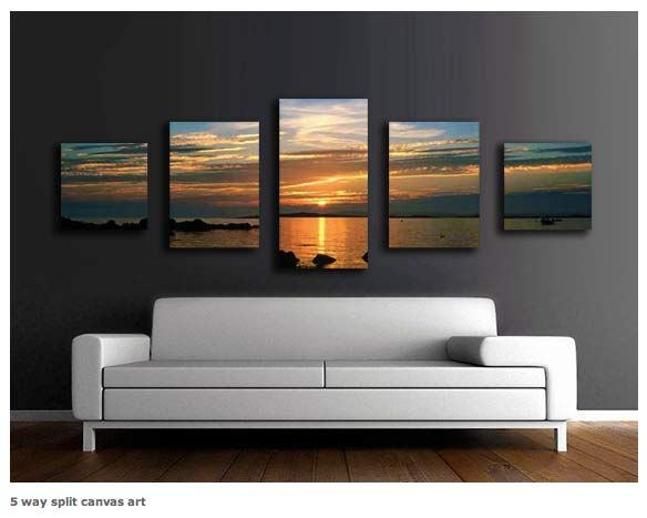 "Seabeach Walking HD Canvas Print 16/""x24/"" Home Decor Paintings Wall Art Pictures"