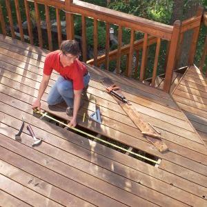 Repairing Decks And Railings Diy Deck Deck Repair Building A Deck