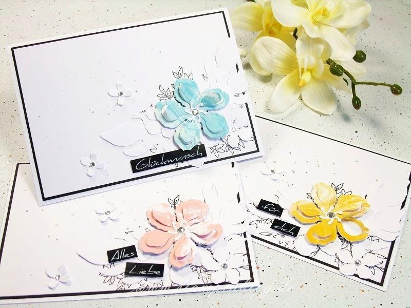 Geburtstag-Glückwunsch-Blumen-schwarz-weiß-Botanical-Blooms-Awesomely-Stampinblog-Stampin