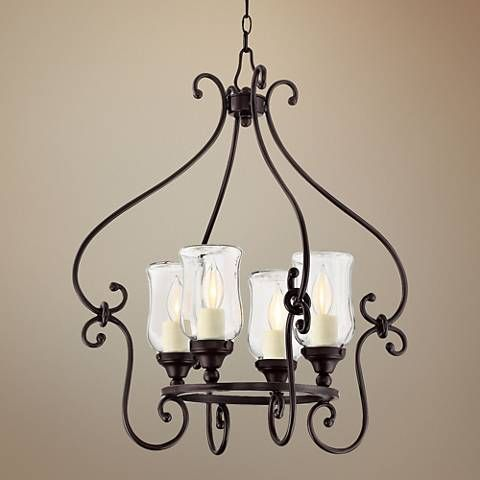 Savoy House Weston 22 W English Bronze Outdoor Chandelier 1w713