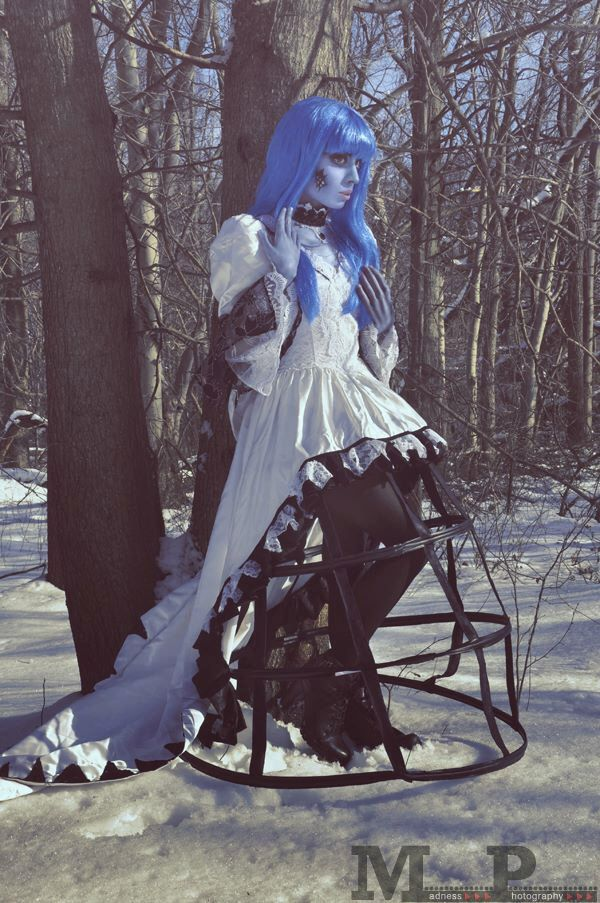 Corpse Bride wedding gown by Tilldeathbridal on Etsy https://www ...