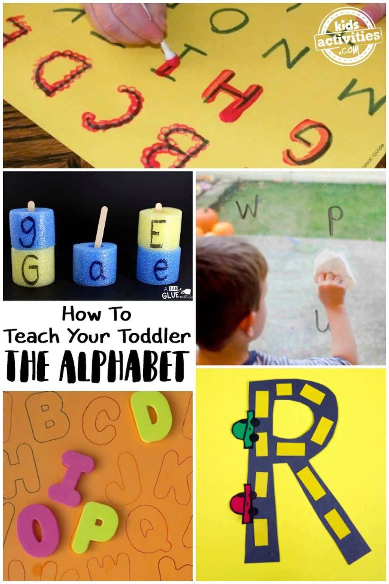 How To Teach Your Toddler The Alphabet In With