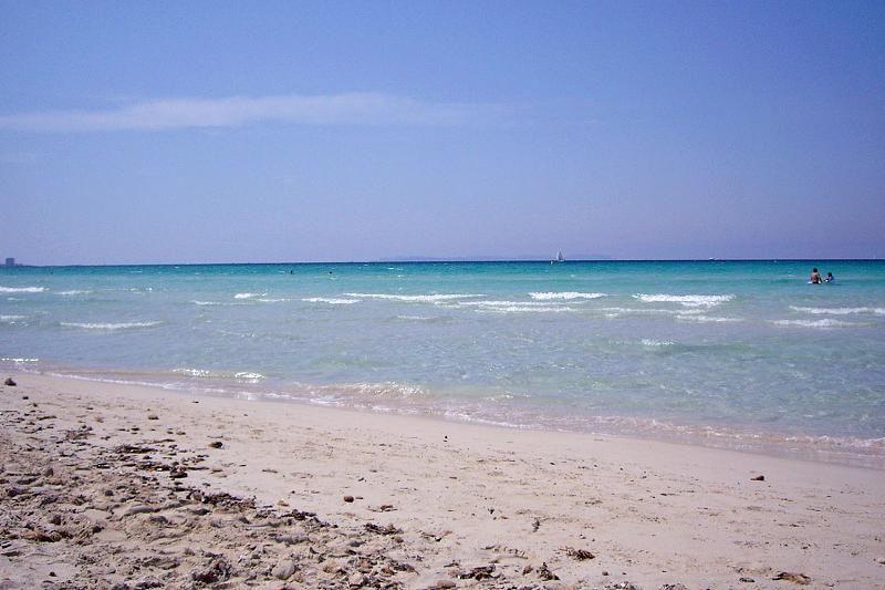 Fünf Kilometer ist der Strand von Es Trenc lang