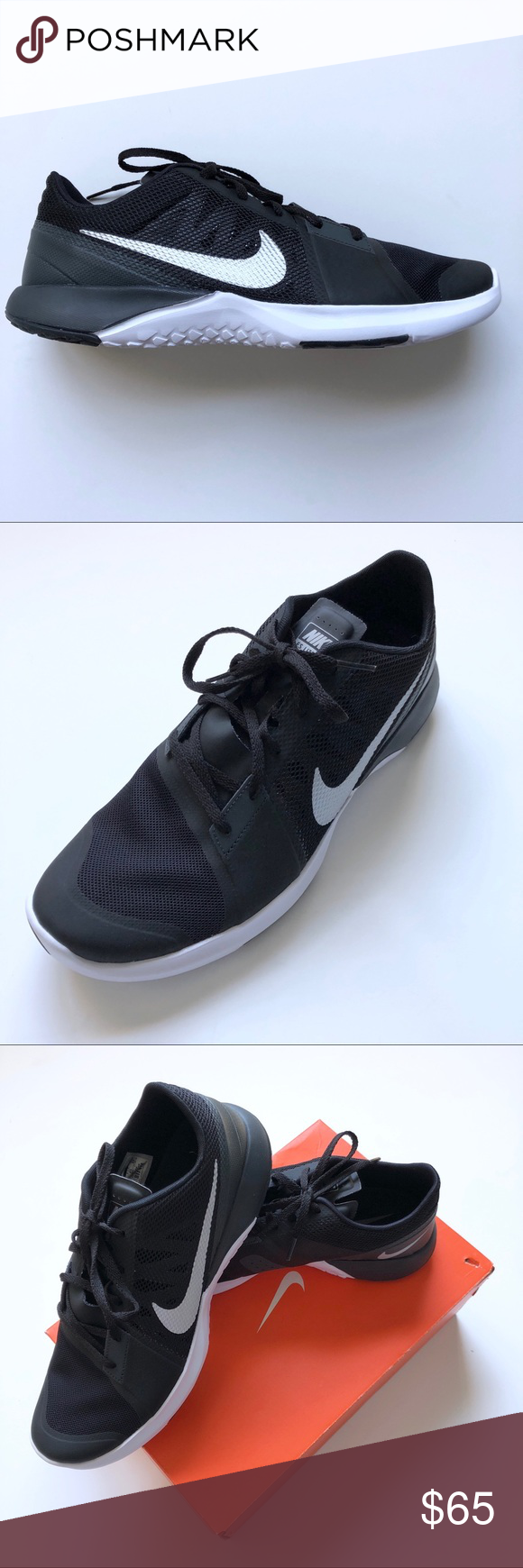 7e70abae1b0b Nike FS Lite Training Sneakers Nike Black and White FS Lite Training  Sneakers NWT