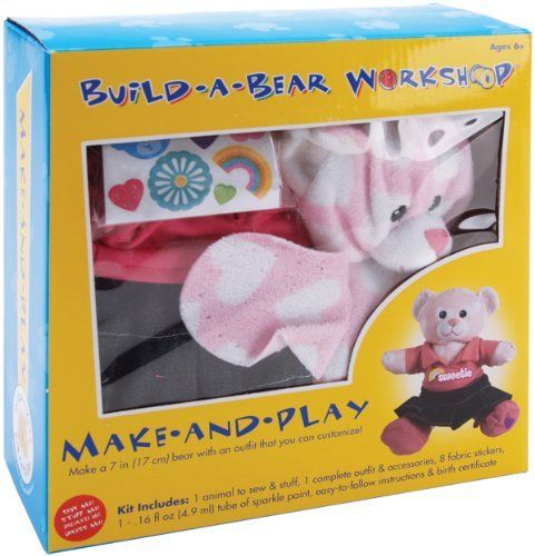 Colorbok Build, A, Bear Kit, Sweetheart By Colorbok. $14