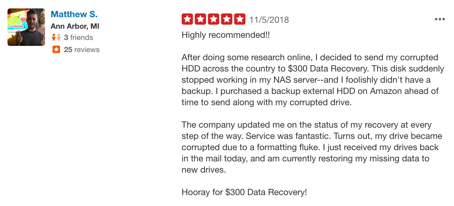 """NEW 5-STAR YELP REVIEW! """"After doing some research online, I"""