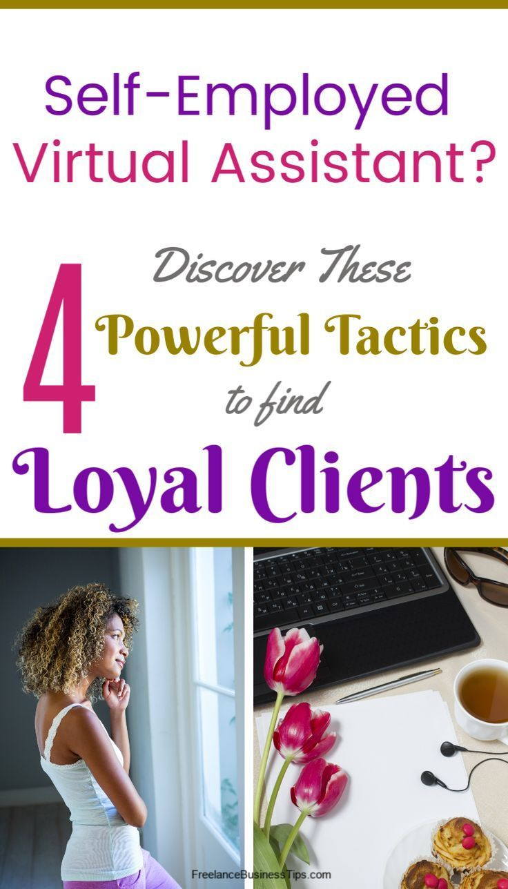 SelfEmployed Virtual Assistant4 Powerful Tactics to Find
