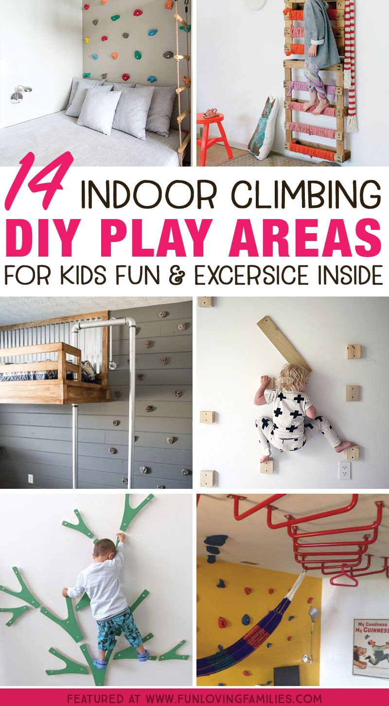 Photo of 14 Genius DIY Climbing Spaces for Kids Indoor Play