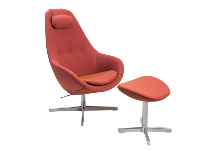 Molinari Sedie ~ Kokon stol i mocca farget hud haukås møbler min ønskeliste for