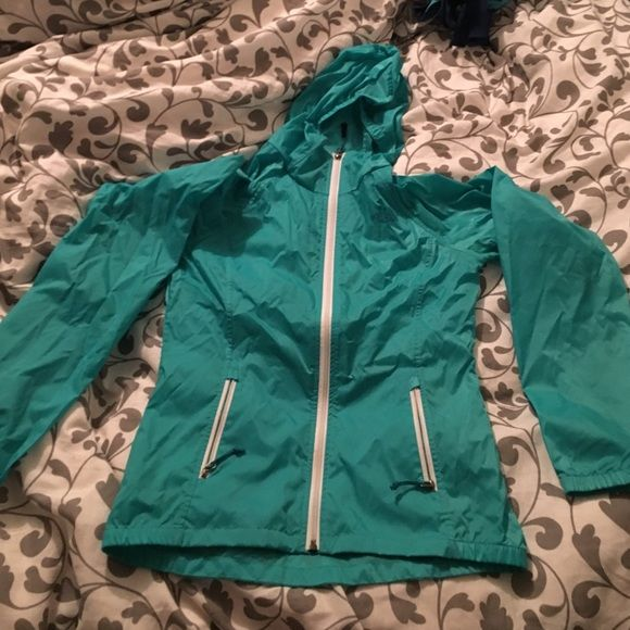 Northface Jacket Windbreaker material. Super light. Got it as a gift, never worn. No trades. North Face Jackets & Coats Trench Coats