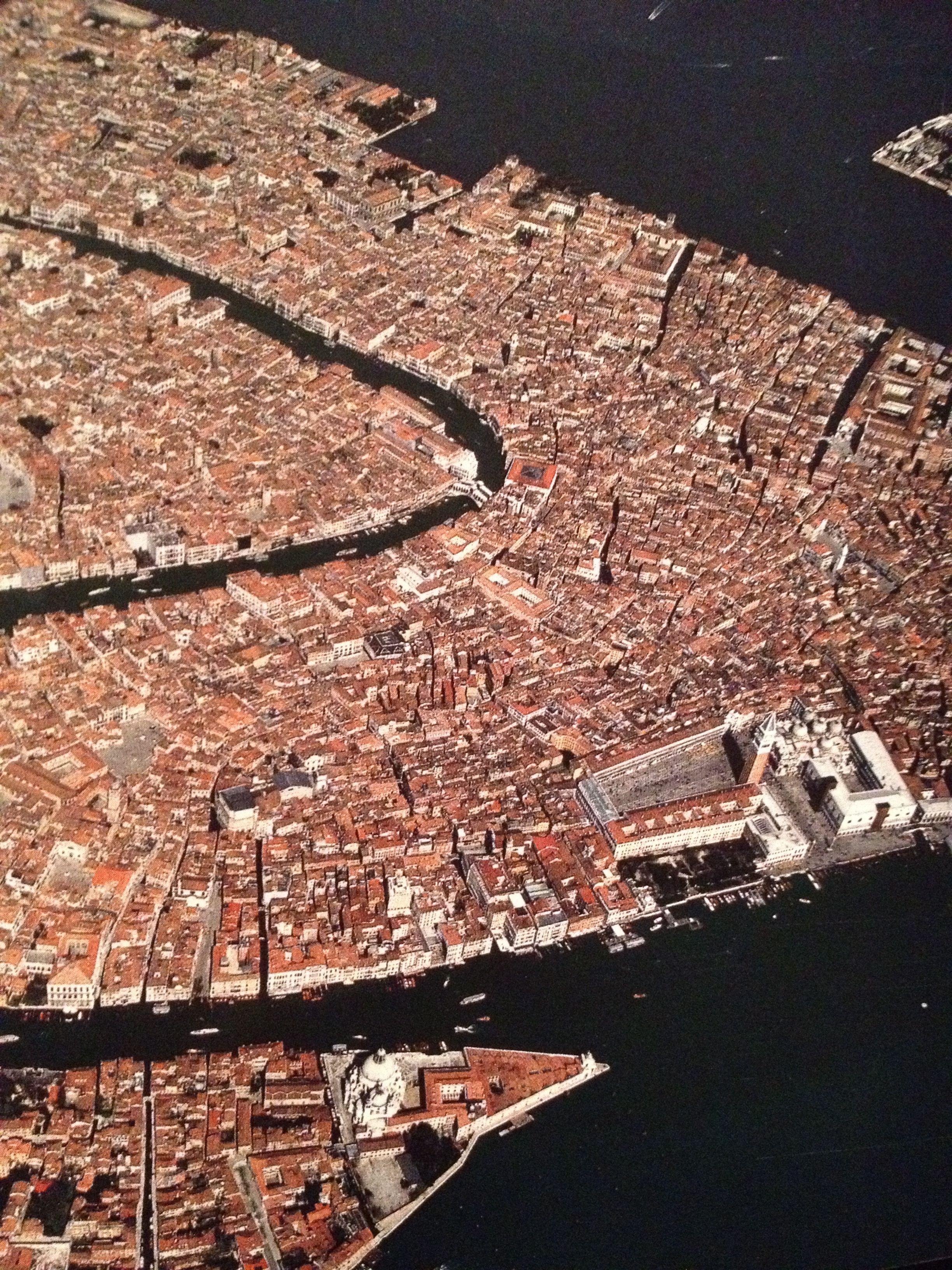 Venice From The Book Earth From Above Prezent Dla Zeglarza