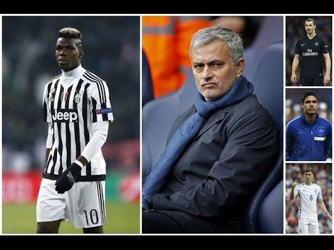 Manchester United F.C. | Zlatan Ibrahimović ,Paul Pogba, José Mourinh...