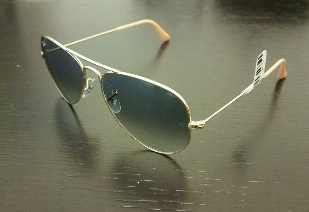 e63ae5ad7 New Ray ban RB3025 aviator women's sunglasses made in italy gold frame # Aviator
