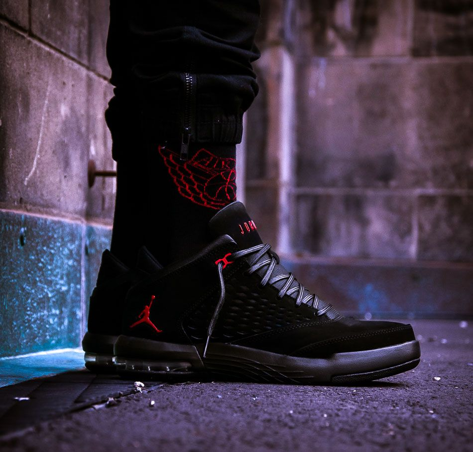 brand new 58358 d68e5 Schwarzer Nike Jordan Flight Origin 4