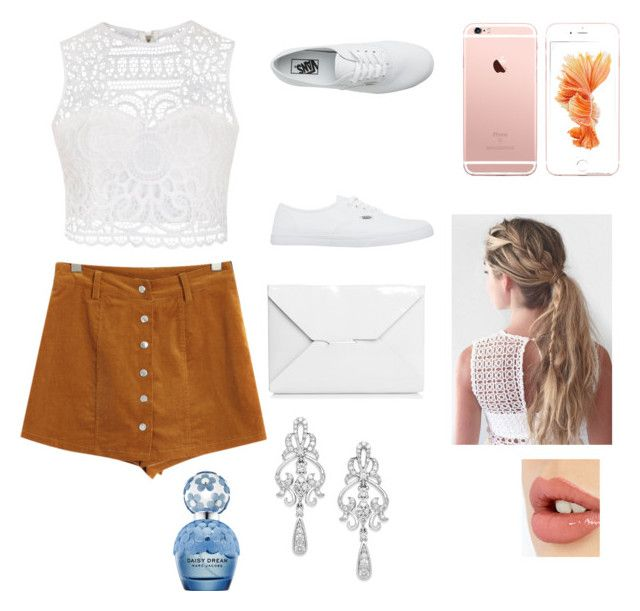 """""""Cute"""" by c3a3n3d3y3 on Polyvore featuring Chicnova Fashion, Ally Fashion, Vans, J.W. Anderson, Wrapped In Love, Marc Jacobs and Charlotte Tilbury"""