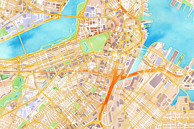 Watercolor Map Generator Watercolor Map Map Art Fancy Art