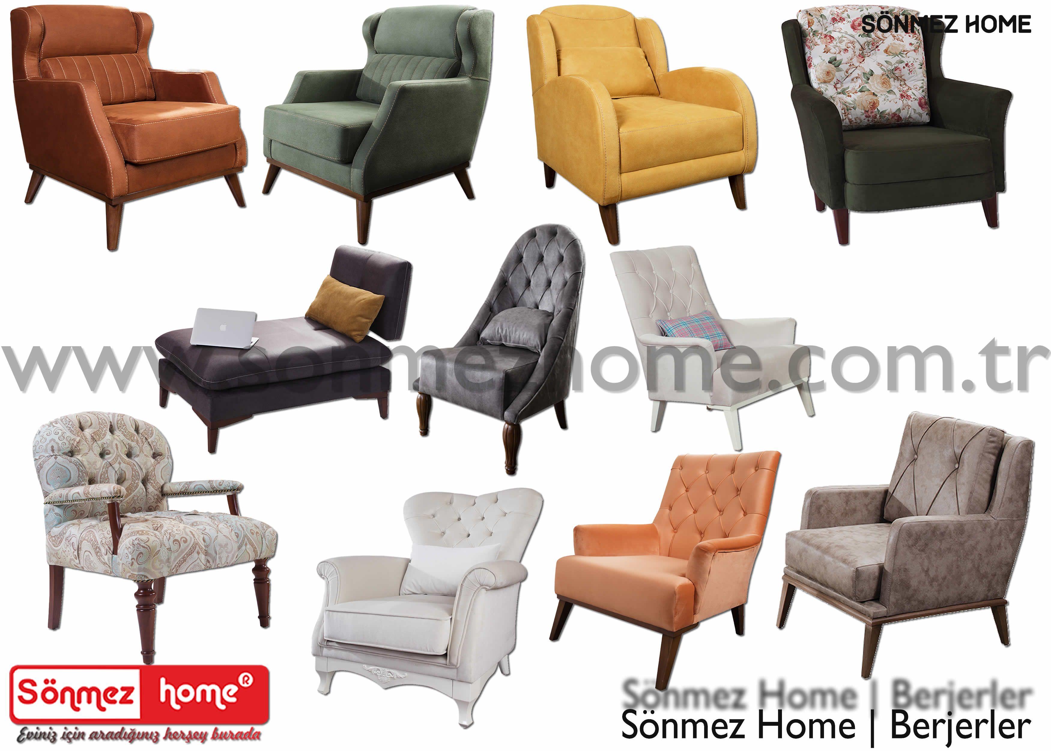 Sonmez Home Modern Mobilya Berjerler Tekli Koltuklar Modern Furniture Mobilya Sonmez Home Koltuk Kose Berje Tekli Koltuk Modern Mobilya Mobilya