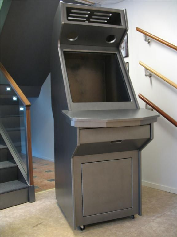 fully cnc machined mame arcade cabinet from finland avforums com rh pinterest com