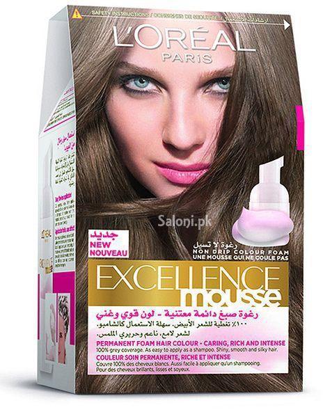 L Oreal Paris Excellence Mousse Hair Color 535 Hot Chocolate