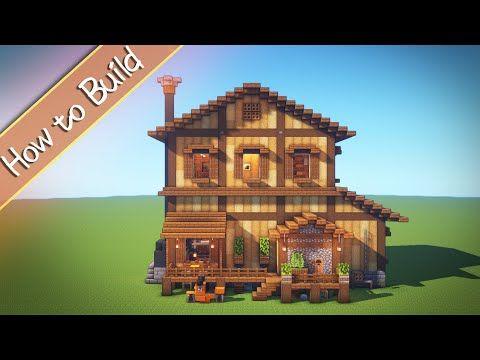 Oshacra Part89 How To Build Beautiful House おしゃクラ 美しい家の作り方 Minecraft Youtube En 2020 Casas Minecraft Planos Minecraft Minecraft