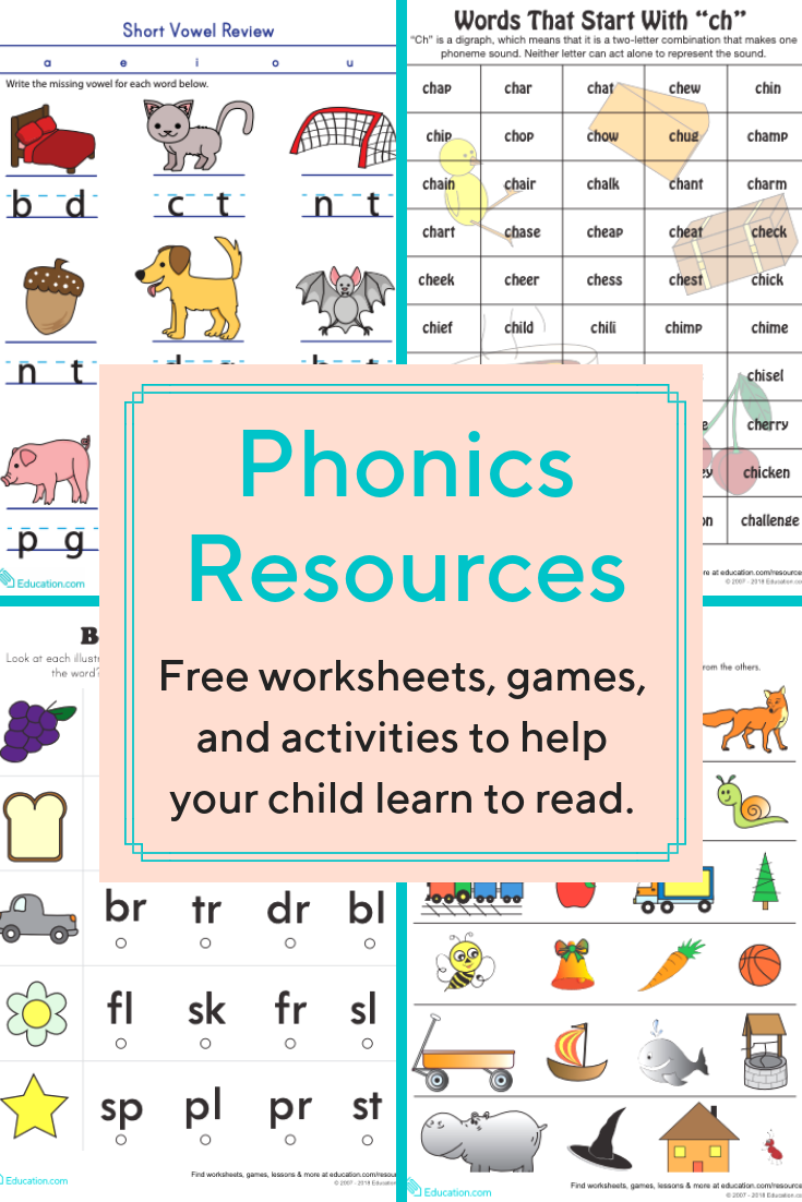 Download Worksheets Games And Activities To Help Your Young Reader Learn About The Sounds Letters Make Phonics Free Phonics Worksheets Free Teaching Phonics [ 1102 x 735 Pixel ]