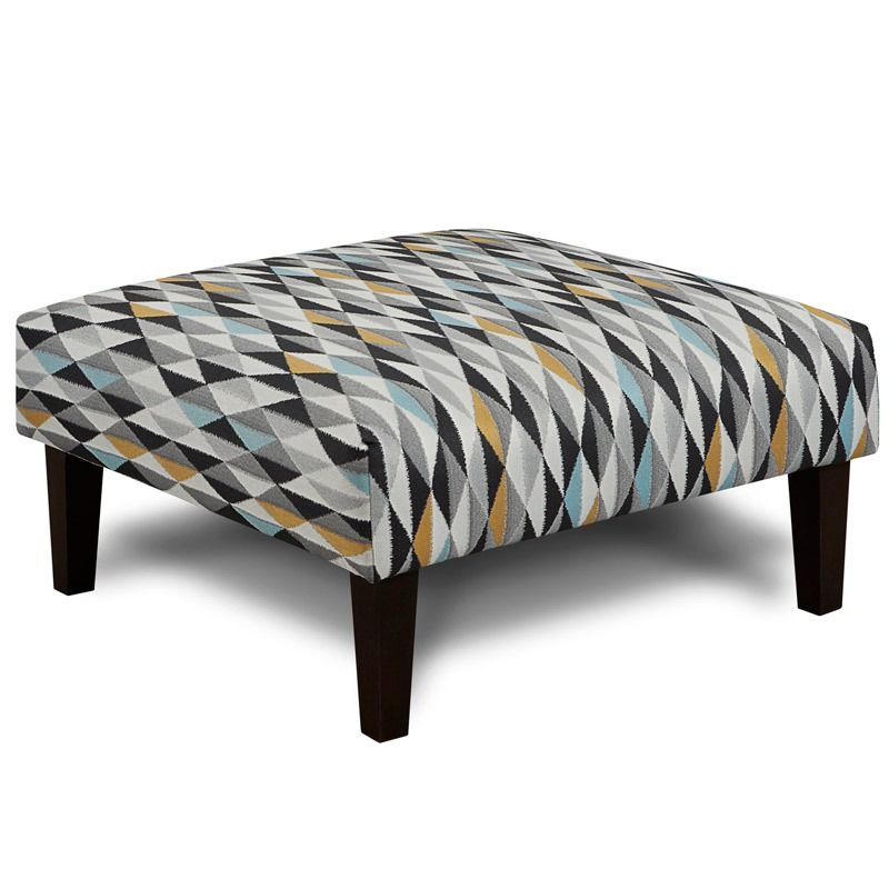 Excellent Fusion Popstitch Cocktail Ottoman Weekends Only Furniture Beatyapartments Chair Design Images Beatyapartmentscom