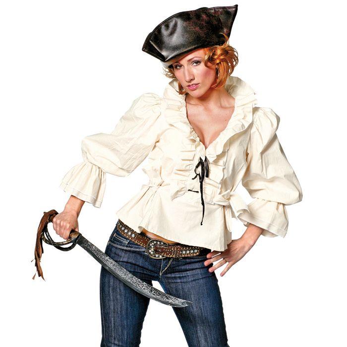 #Piratenbluse