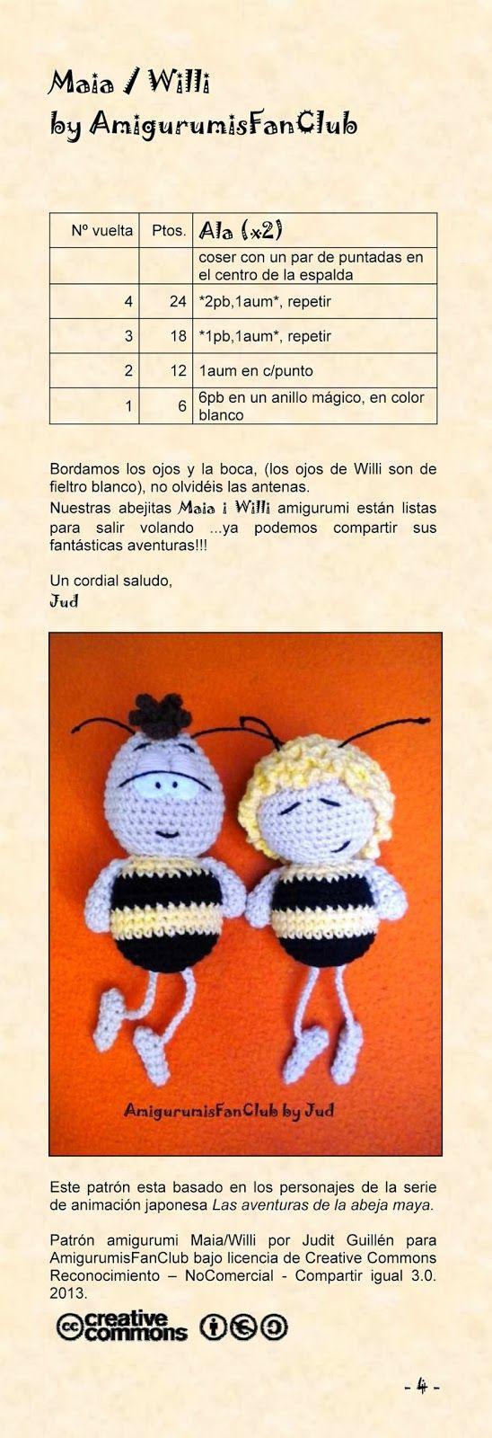 Excelente Patrones De Ganchillo Hilo De Abejas Imagen - Ideas de ...