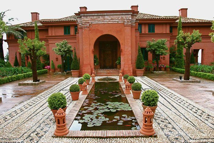 Galer a jardines hispano rabes de manuel garc a for Jardin islamico
