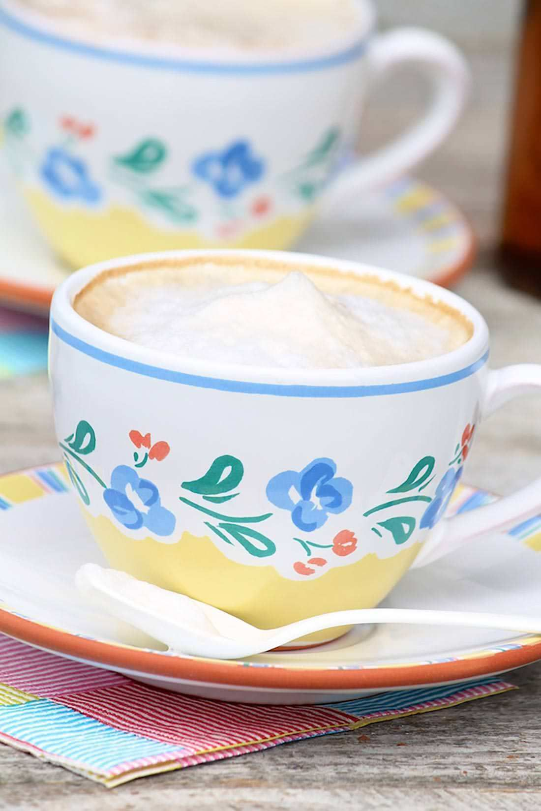 Homemade lattes and how to froth milk without a fancy